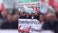 Saadet Partililerden A Haber'e protesto eylemi