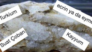 Dünya'da ilk defa Türkiye'de bulunan bir elementin ismi için gelen fantastik öneriler