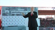 Erdoğan'dan sert sözler: Sizi de dedeleriniz gibi uğurlayacağız