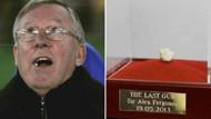 Ferguson'un son maçında çiğnediği sakız, açık artırmada rekor fiyata satıldı!