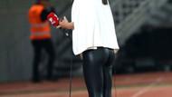 Milli maçta gözleri üzerine çeken kadın bakım kim çıktı
