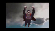 AKP'li başkan adayı Süperman klibiyle sosyal medyayı salladı