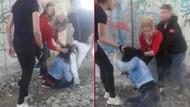 Kütahya'da bir kızı tekme tokat dövüp kaydettiler