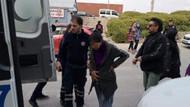 Hamile kadın gözaltına alınırken hastanelik oldu