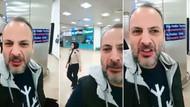 Havalimanında başörtülü kadınlara hakaret eden kişi gözaltına alındı