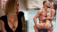 Irina Morozyuk eşiyle yatakta çıplak pozunu paylaştı