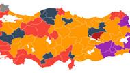Yerel seçimlerde haritanın rengi değişti, 25 şehir el değiştirdi