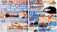 Gazeteler yerel seçimi hangi manşetlerle gördü?