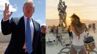 Trump Burning Man festivalinin arazisine duvar yapacak