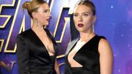 Scarlett Johansson'dan cesur göğüs dekoltesi