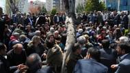 Bağlar'da HDP'li Ceylan'dan mazbata eylemi