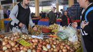 Büyükşehirlerde soğan 7-8, domates 10-12, sivri biber 25 TL'ye kadar tırmandı