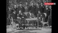 Bu görüntüler yeniden gündeme geldi: Atatürk, ABD Büyükelçisi ile Fransızca konuşuyor