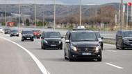 700 araçlık konvoyla Ankara'ya geldiler... Polis izin vermedi