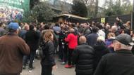 Üsküdar'da seçim kurulu önünde kavga!