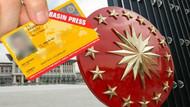 Türkiye'de 1 yılda 664 gazetecinin sarı basın kartı iptal edildi