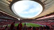 Atletico Madrid'in Stadı'nda cinsel içerikli film çektiler