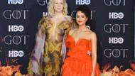 Game Of Thrones galasında dekolte yarışı