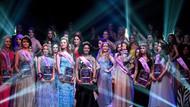 Moskova'da kısa boylu güzeller yarıştı