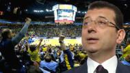 Fenerbahçe taraftarından Ekrem İmamoğlu tezahüratı