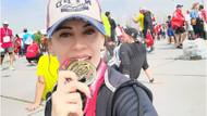 Fatma Karaağaç 14.İstanbul Yarı Maratonu'nda