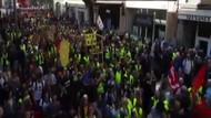 Sarı Yelekliler 1 Mayıs'ta da sokaklarda