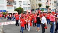 1 Mayıs'ta herkes eğlendi, inşaat işçileri çalıştı