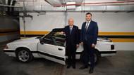 Bahçeli eski model otomobilini Kayseri Milletvekili Ersoy'a hediye etti