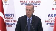 Erdoğan: Seçimde büyük yolsuzluklar yapıldı