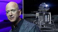 Amazon'un sahibi Jeff Bezos yeni uzay aracı Blue Moon'u ve hayalindeki uzay yaşamını tanıttı