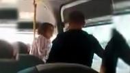 Minibüste erkek şiddeti: Karım değil mi istediğimi yaparım