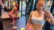 Jennifer Lopez poposunu sıkı tutmak için neler yapıyor?