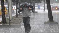 Meteoroloji'den bir çok il için sağanak yağış uyarısı