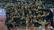 Voleybol Efeler Ligi'nde şampiyon Fenerbahçe
