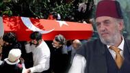Keşke Yunan galip gelseydi diyen Kadir Mısıroğlu'nun tabutu Türk bayrağına sarıldı