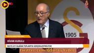 Galatasaray divan kurulunda Her Şey Çok Güzel Olacak sloganları