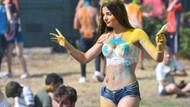 Yerli yabancı herkes bu festivalde kendinden geçti
