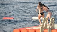 Nilay Deniz arkadaşıyla tatilde