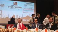 Fatih Erbakan'ın iftarında Bilal Erdoğan'ın vakfına teşekkür detayı
