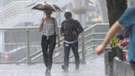 Meteoroloji yağmur için saat verdi! Son dakika hava durumu verileri