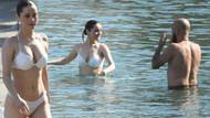 Seksi şarkıcı Elif Kaya bikini sezonunu açtı