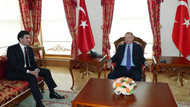 Cumhurbaşkanı Barzani ile görüştü
