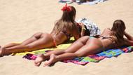 Plajlar yabancı turistlere kaldı