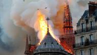 Notre Dame Katedrali'ndeki yangının sorumlusu sigara veya elektrik sorunu