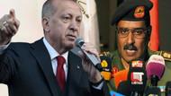 Erdoğan'dan Türkiye'yi tehdit eden Libya Ulusal Ordusu sözcüsüne tepki