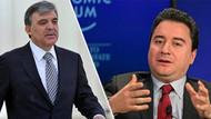 Kulis: Gül ve Babacan yeni partiyi sonbaharda kuruyor
