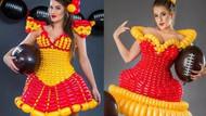 En ilginç trend: Balon kostümleri! Gelinlik bile var