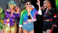 Lady Gaga ve Madonna ve daha birçok ünlü Onur Yürüyüşü'ne katıldı