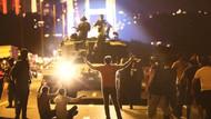 15 Temmuz gecesi darbeci askerlerin halka ateş açma görüntüleri