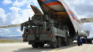 S-400 teslimatında ikinci gün: Sistemin parçalarını taşıyan Rus uçağı Mürted'e indi